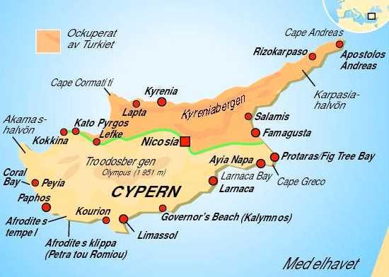 Karta Famagusta Cypern.Saknade Svensken Hittad Vid Liv Aftonbladet