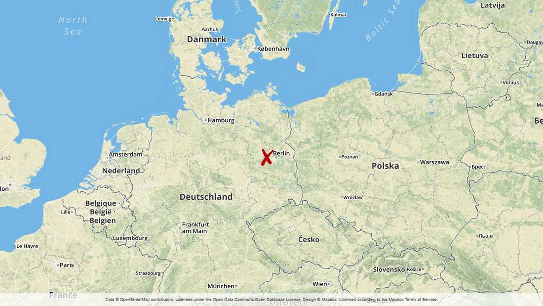 Den misstänkte mannen greps i Berlin. Han tros ha planerat ett terrordåd på tysk mark.