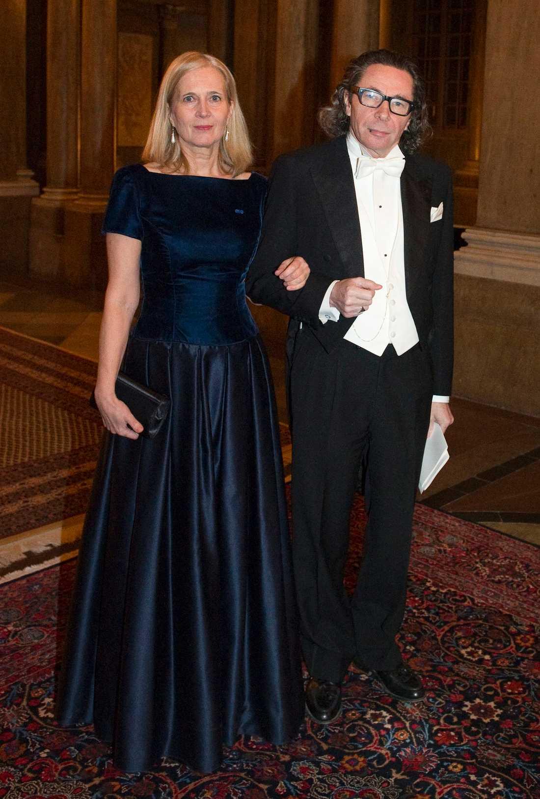 Katarina Frostenson och Jean-Claude Arnault.