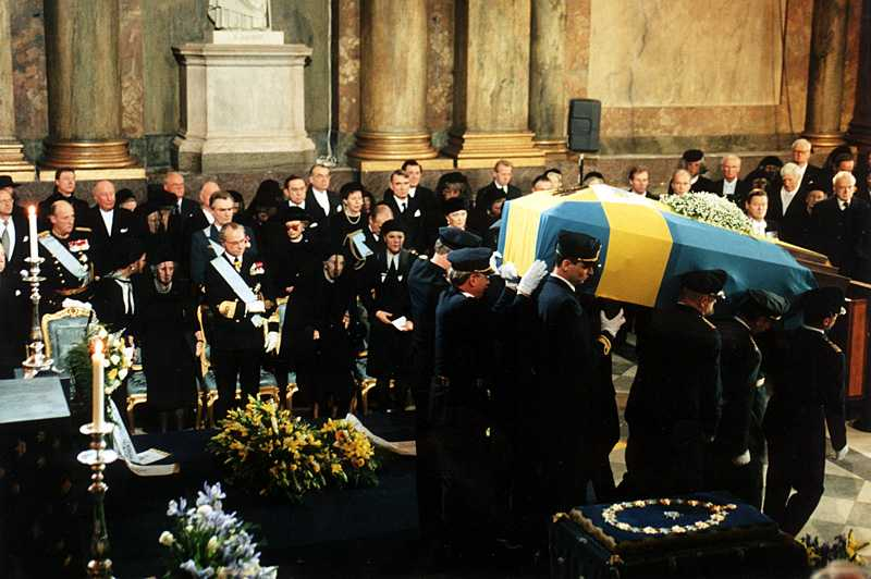 Prinsessan Lilian ska, som prins Bertil 1997, begravas i Slottskyrkan.
