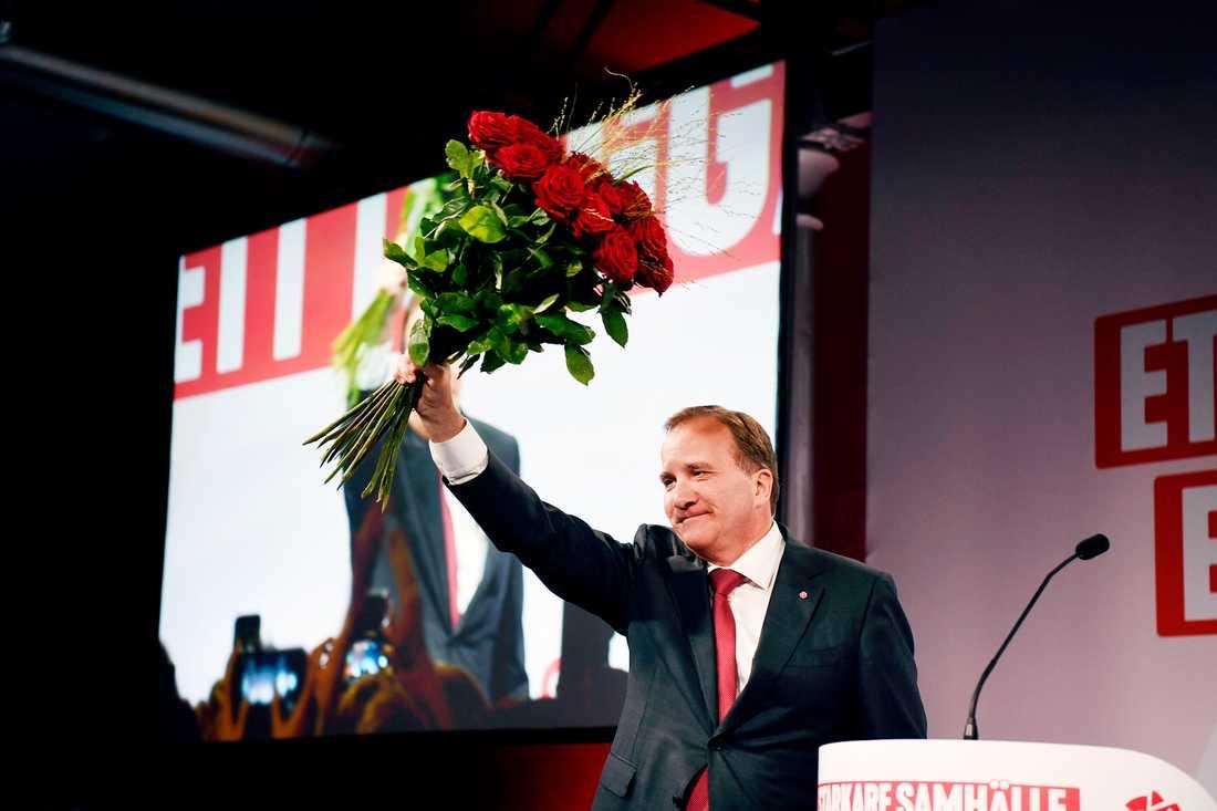 Stefan Löfven gjorde klart att han inte tänker avgå som statsminister.