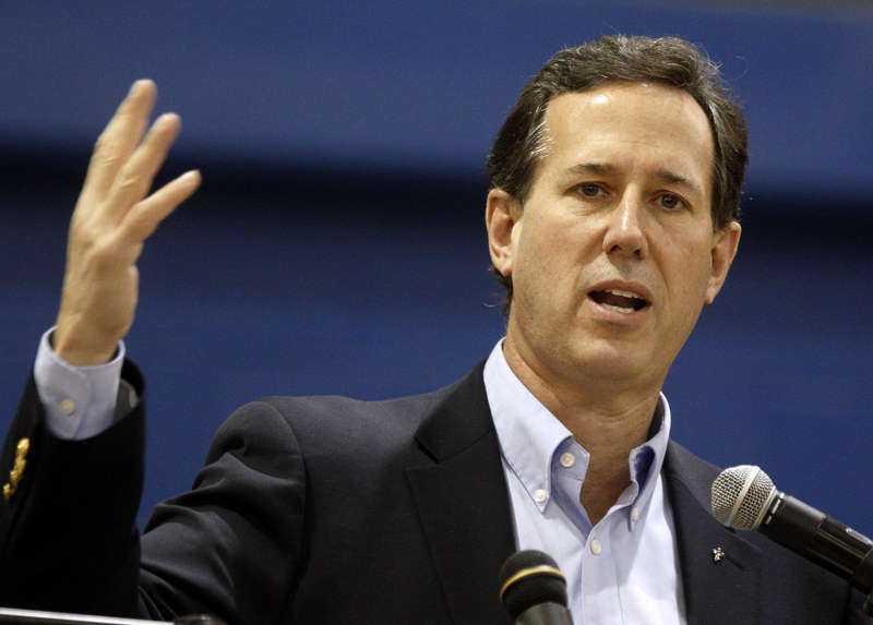 Lördagens vinnare Rick Santorum tog hem 51 procent av rösterna i viktiga Kansas.