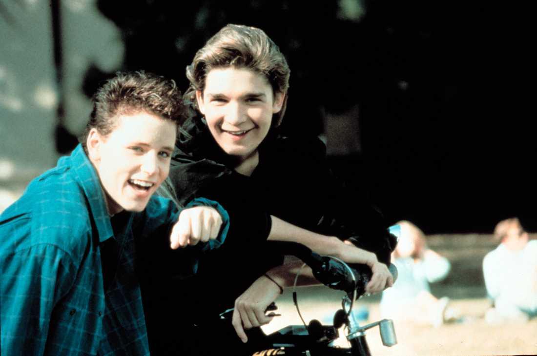 Corey Feldman och Corey Haim.