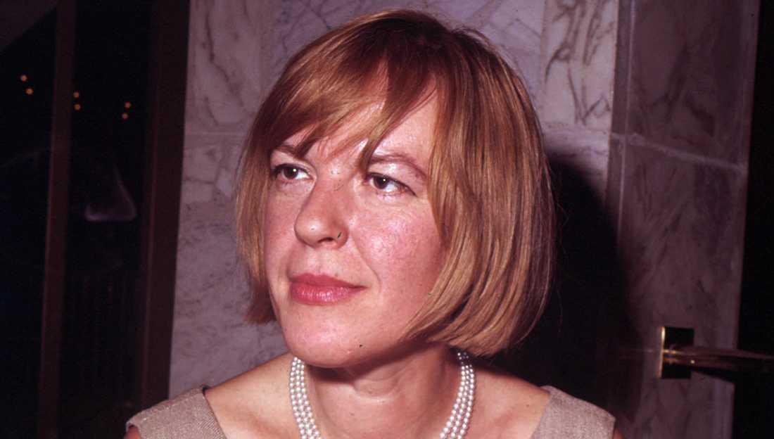 Författaren och kritikern Ingeborg Bachmann.