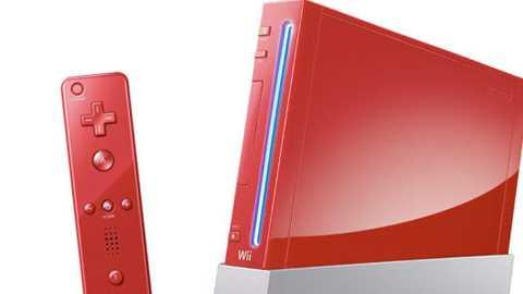 Nya, röda Wii.