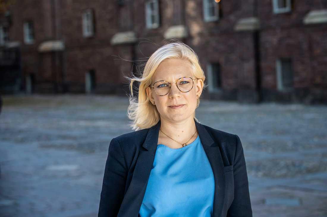 Stockholms idrottsborgarråd Karin Ernlund (C)
