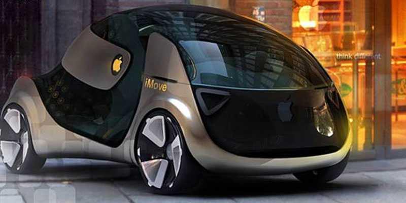 Apple iMove är en konceptbil som ingick i en designstudie och gjordes av en student 2010. Hur Apples slutgiltiga bil kommer att se ut är det däremot ingen som vet.
