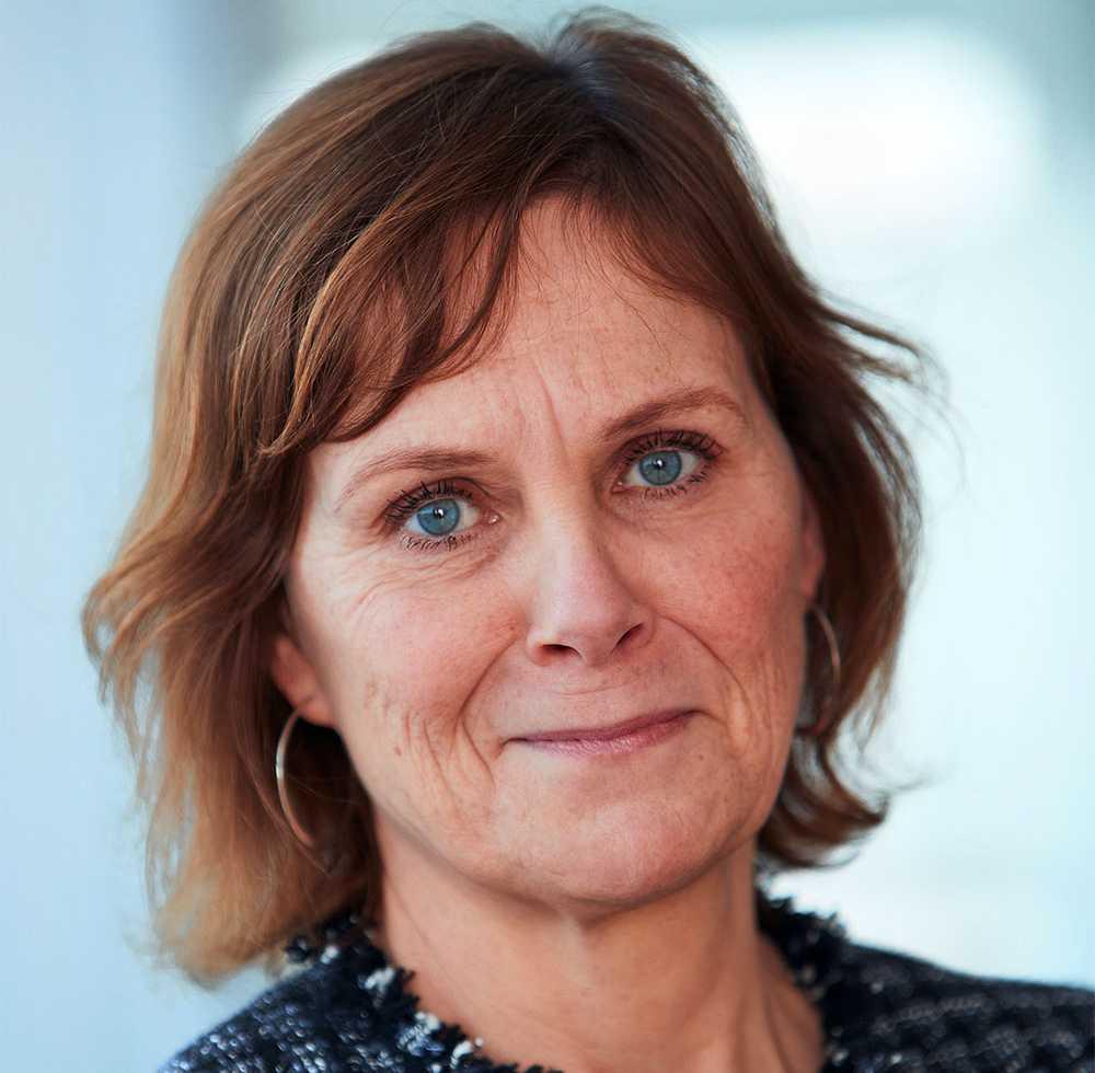Svenska kraftnäts generaldirektör Lotta Medelius-Bredhe.