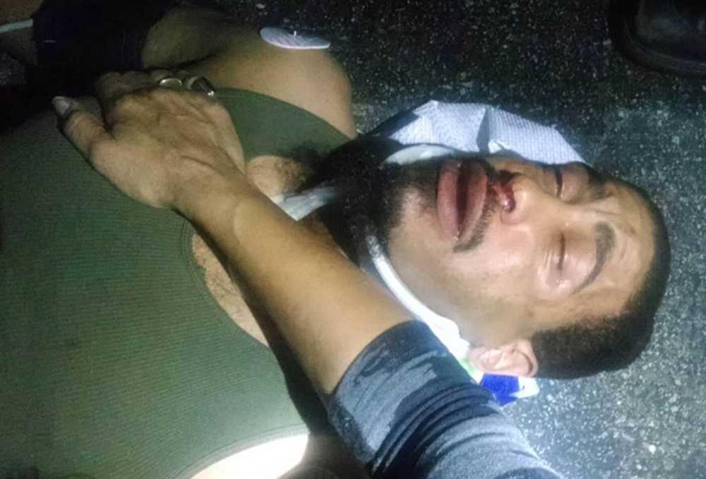 Columbus Short står anklagad för att ha misshandlat en man i ett barbråk.