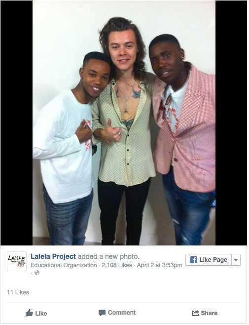 Filantropen Harry  Under ett turnéstopp i Sydafrika besökte Harry en organisation som jobbar med ungdomar på glid i Sydafrika