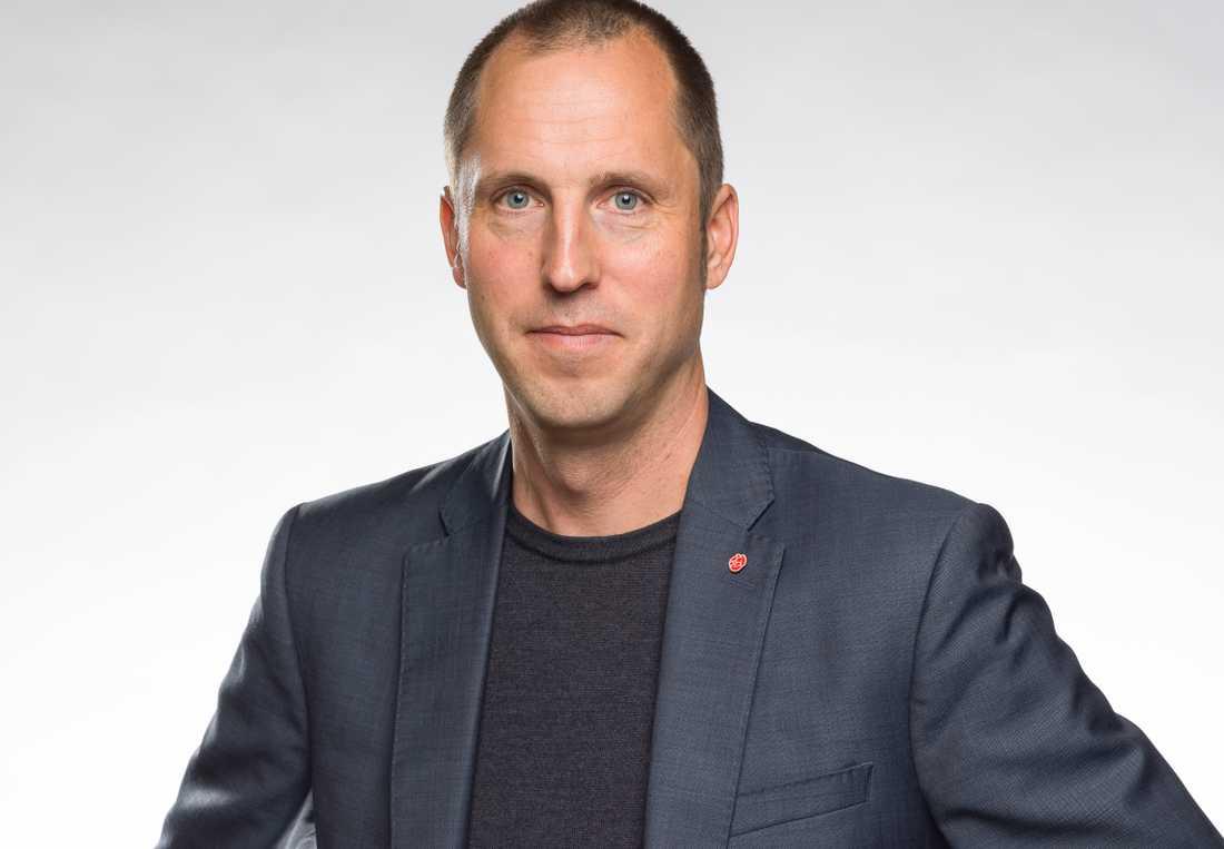 Erik Pelling (S), kommunstyrelsens ordförande