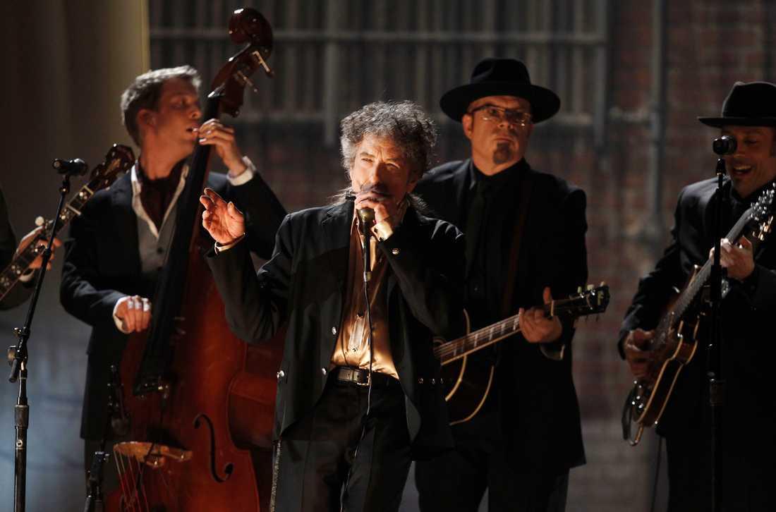 """Bob Dylan skrev """"Lay Lady Lay"""" till Barbra Streisand, enligt Billboard. Arkivbild."""