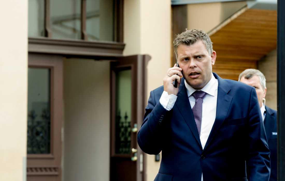 Norges justitieminister Jøran Kallmyr. Arkivbild.