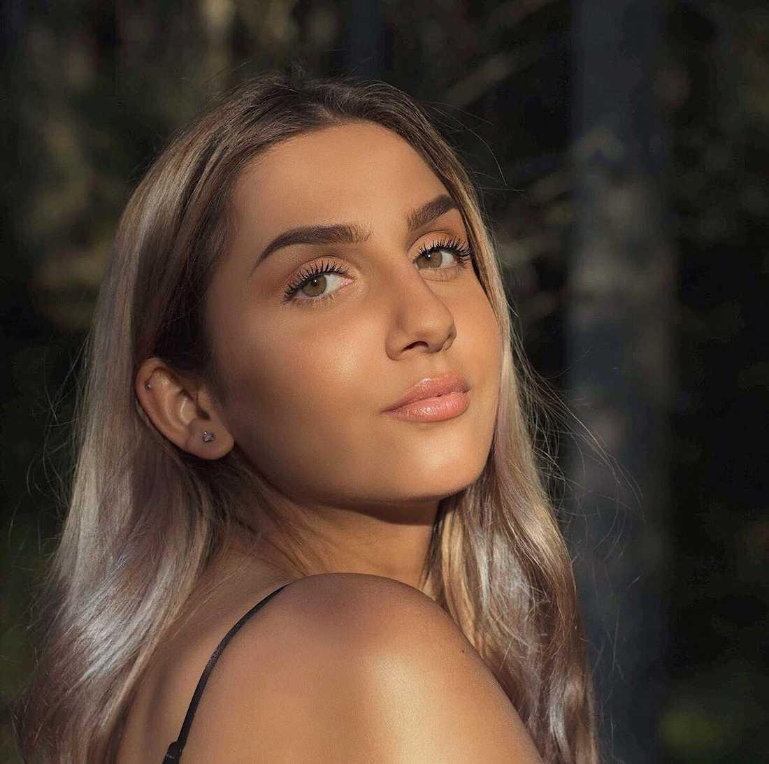 Merlissa Sakr, 19, röt ifrån.