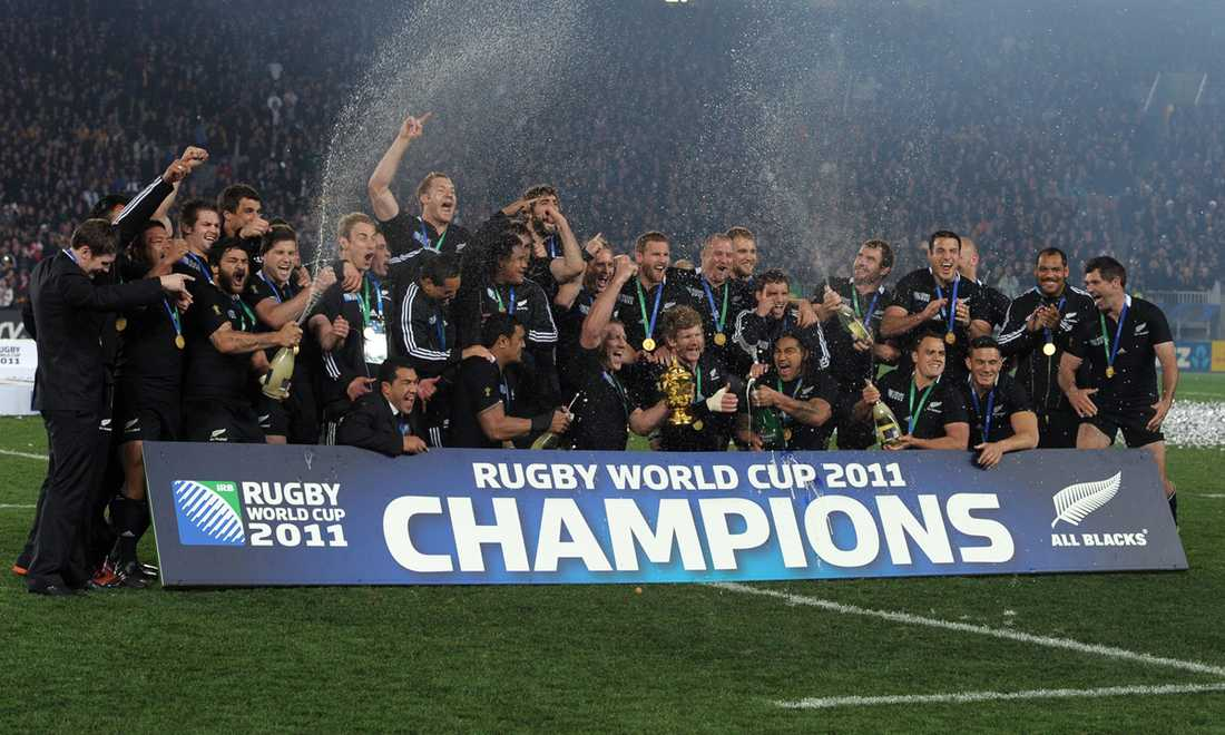 """All Blacks"" vann Rugby-VM 2011."