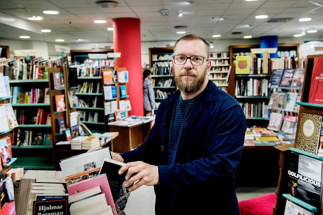 Ägaren till Hedengrens, Nicklas Björkholm.