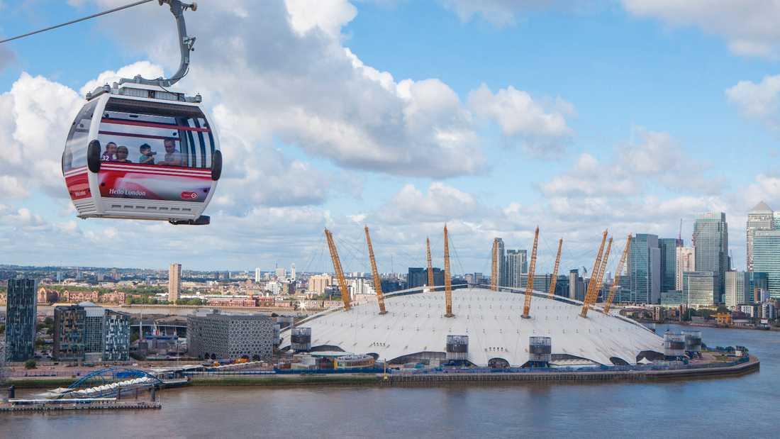 94a28a7d4fb7 Airline – linbanan över Themsen – hade premiär till London-OS 2014 men är  fortfarande