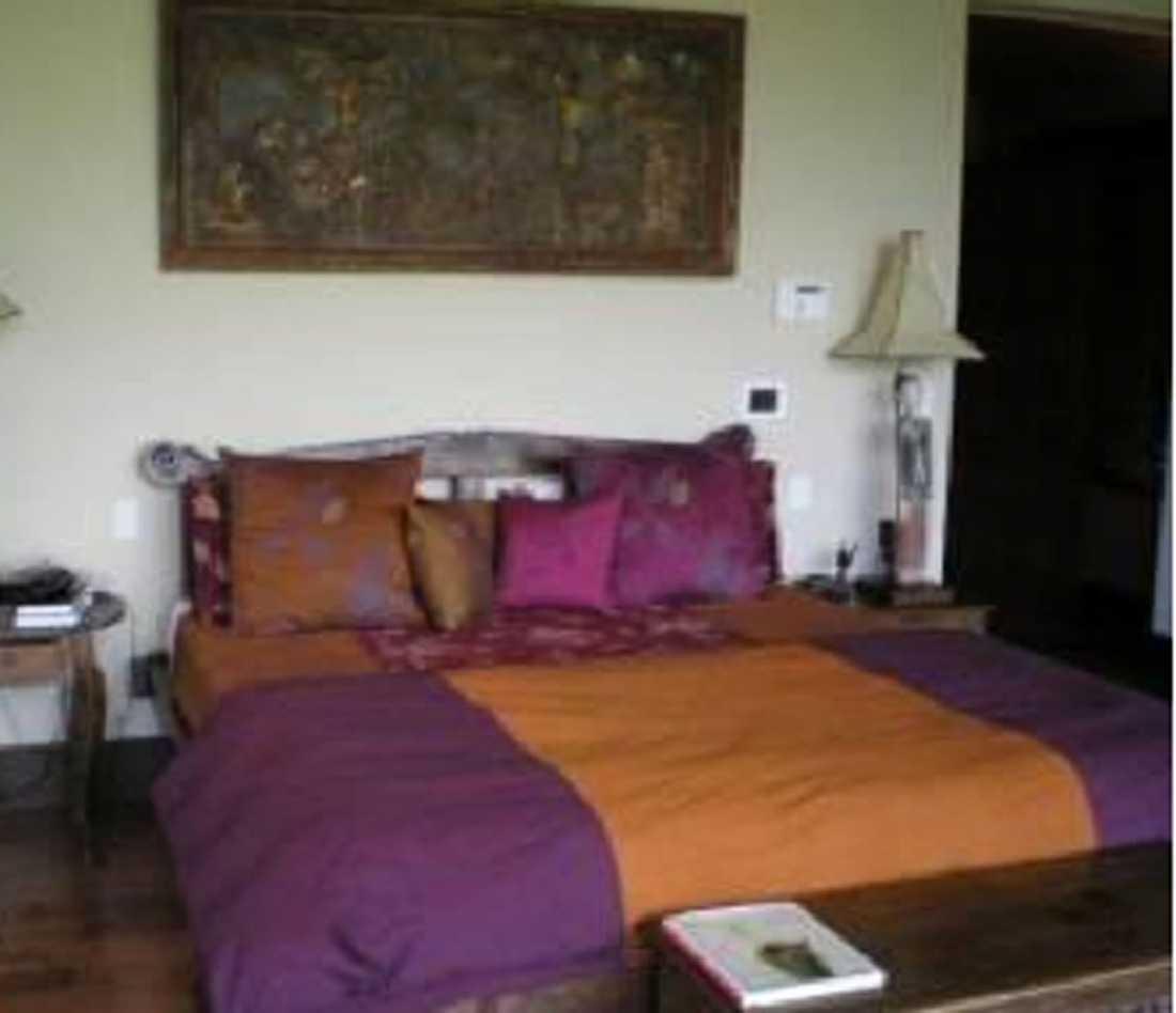 KÖPER HUS Pink har sex sovrum att välja bland i sitt nya hus.