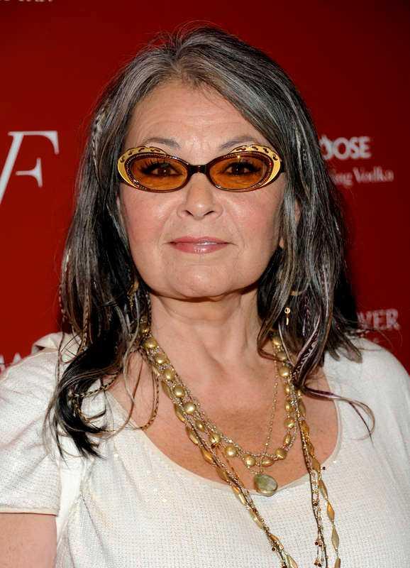 Roseanne Barr har drabbats av grön starr.