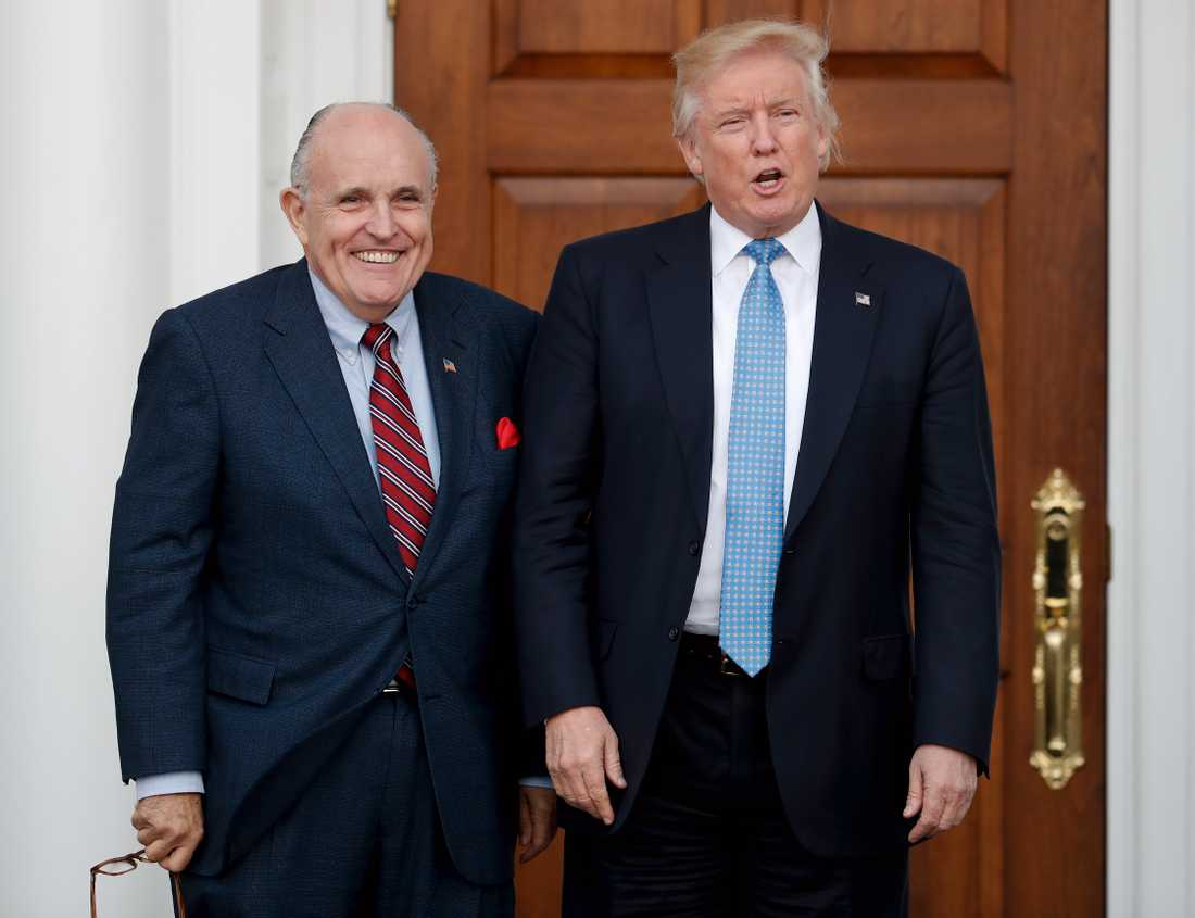 Rudy Giuliani är Donald Trumps nya advokat.