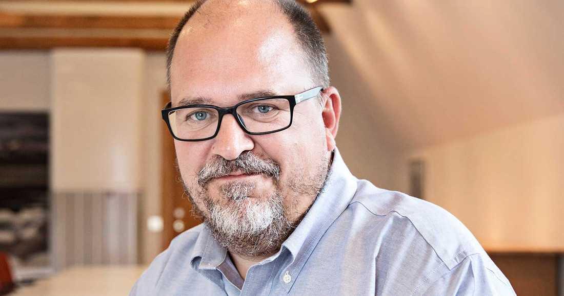 Karl-Petter Thorwaldsson, ordförande i LO.