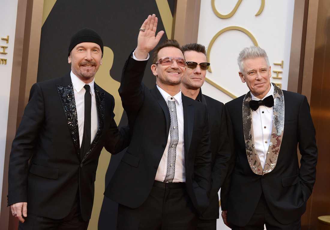 Åsa Romson gillar U2.
