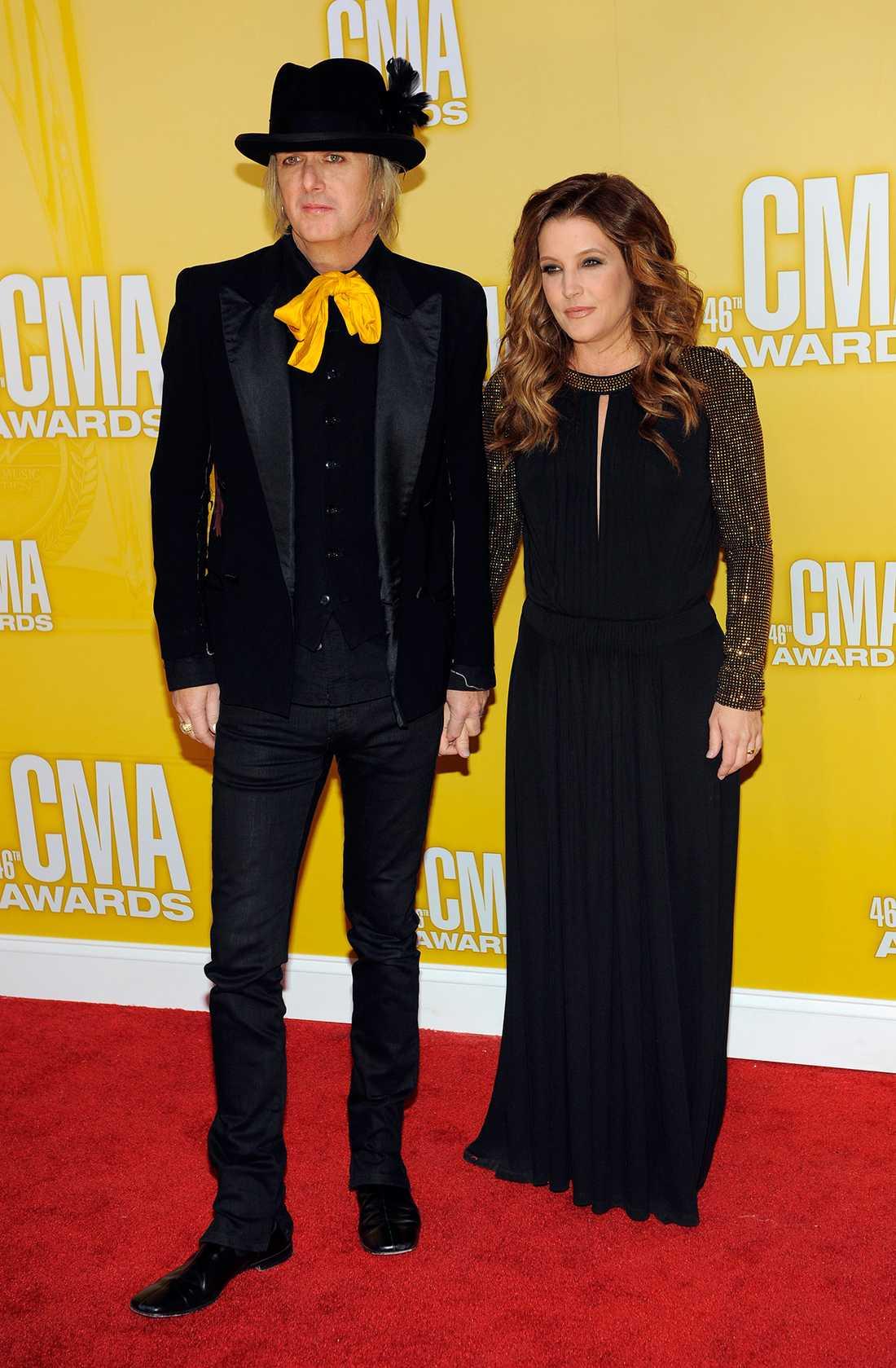 Michael Lockwood och Lisa Marie Presley.