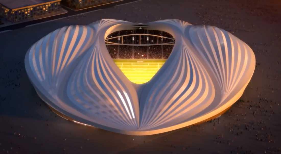 Al-Wakrah Stadium igen.