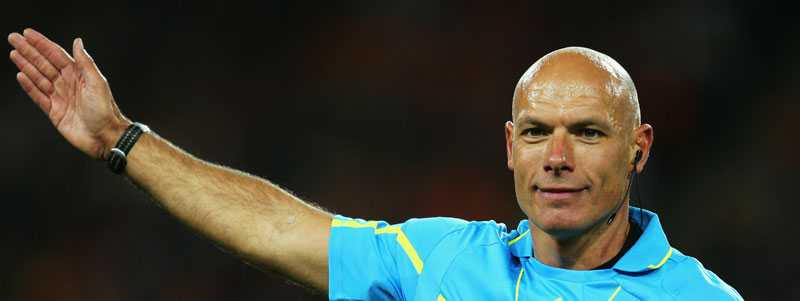 Howard Webb under tiden som aktiv.