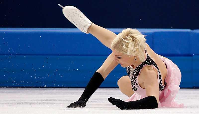 OS tog slut redan efter första hoppet för svenskhoppet Viktoria Helgesson.