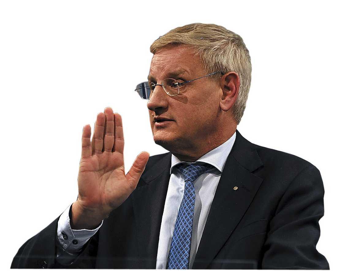 Carl Bildt. Foto. AP