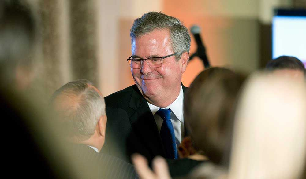 Jeb Bush, 62, ex-guvernör, Florida.