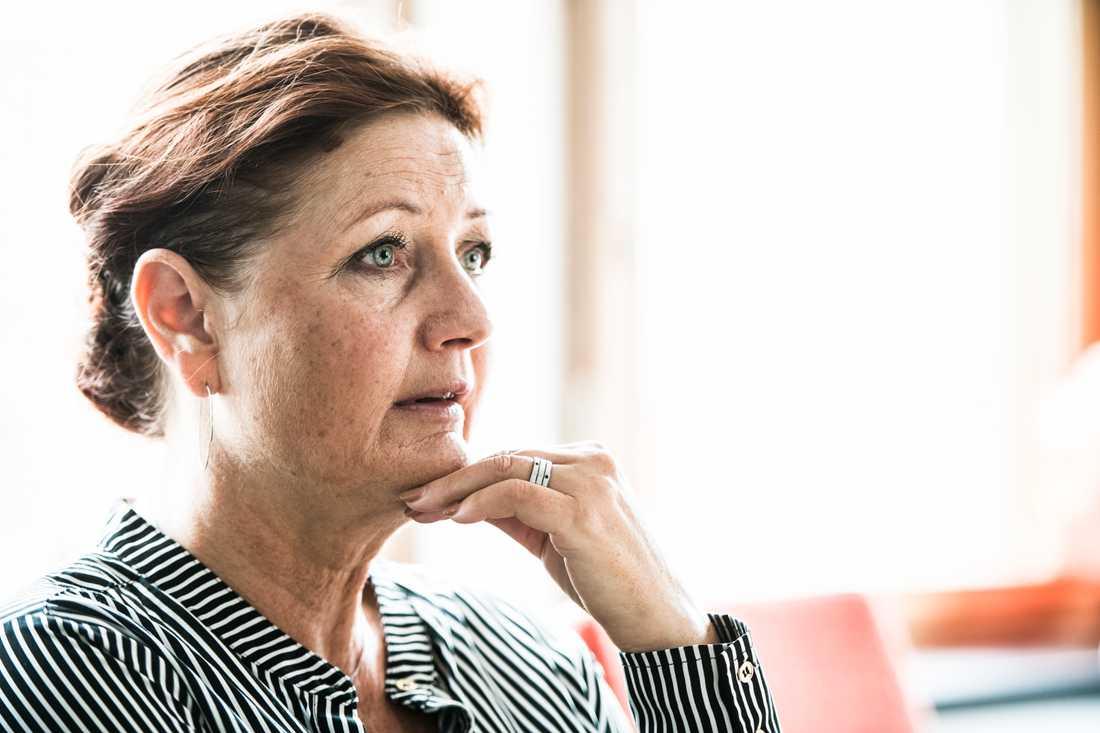 Marie Nilsson, förbundsordförande för IF Metall, ska använda sina förstamajtal till att mobilisera fler att gå och rösta i EU-valet.