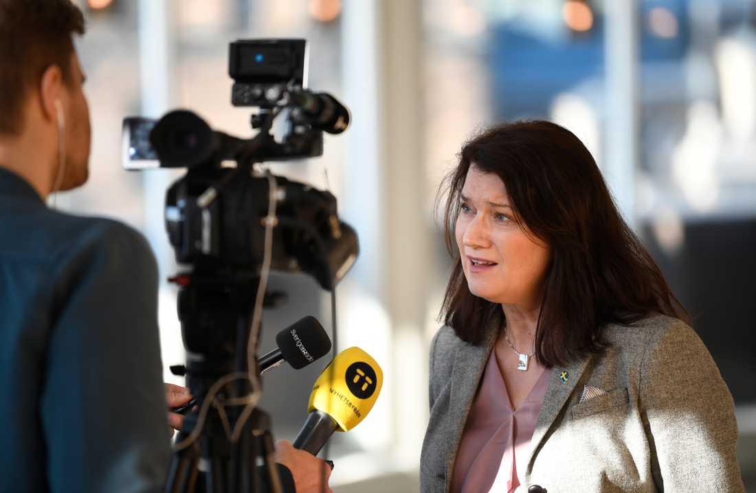 Sveriges utrikesminister Ann Linde (S). Arkivbild.