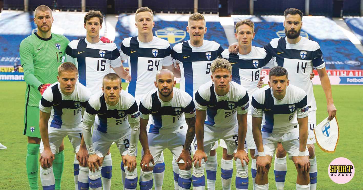 Finlands trupp till fotbolls-EM – gör sitt första mästerskap