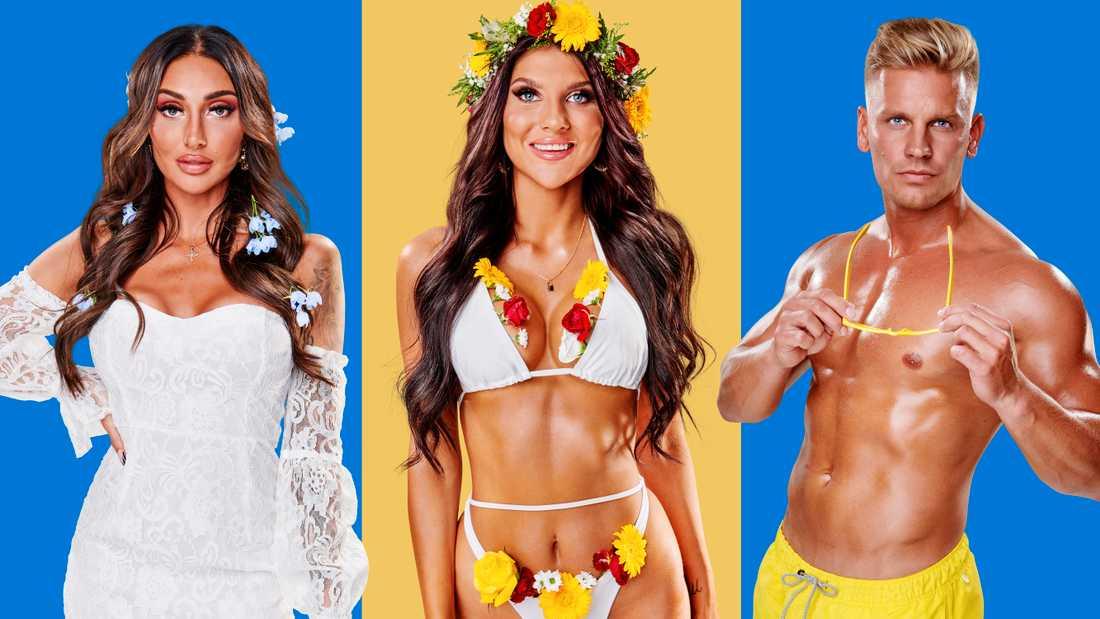 "Vanessa Sarossy, Gabriella ""Bella"" Andersson, Jesper ""Ace"" Jernberg."