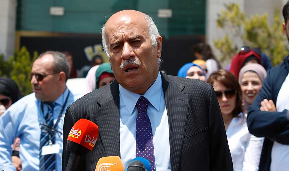 Palestinska fotbollsförbundets ordförande Jibril Rajoub.