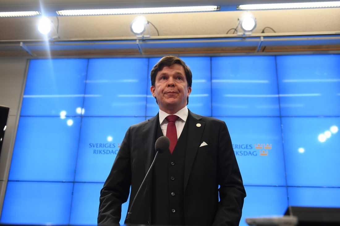 Riksdagen talman Andreas Norlén