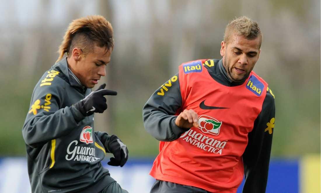 Neymar och Alves