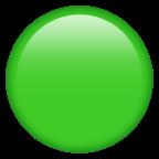 Grön cirkel.