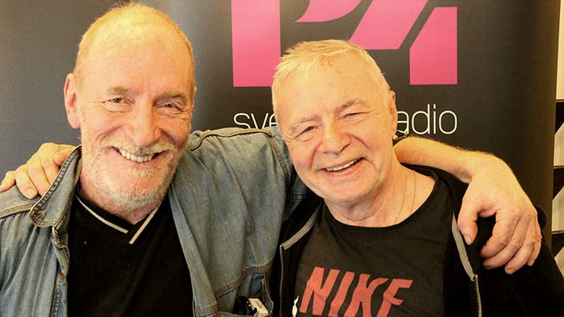 """Lennart """"Hoa-Hoa"""" Dahlgren och Jerry Williams."""