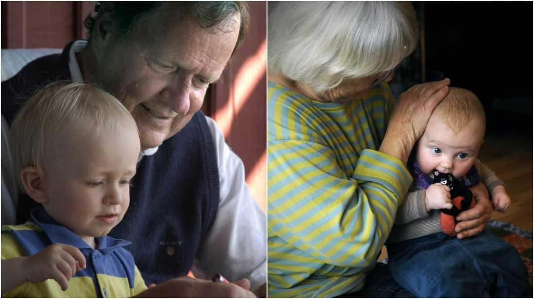 Ta hand om barnbarnen och du lever längre, enligt forskningen.