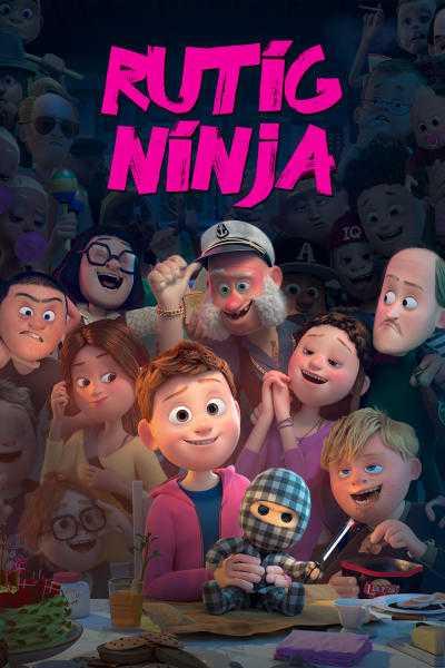"""Från filmen """"Rutig ninja"""" som var kategoriserad som en barnfilm. Nu har Viaplay ändrat om den till en annan kategori efter kritiken."""
