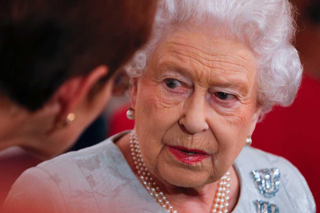 Drottning ElizabethII har fonder i skatteparadis som inte varit kända tidigare. Arkivbild.