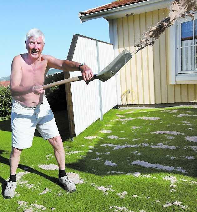 PIGG 83-årige Rune Nordén har koll på hälsan.