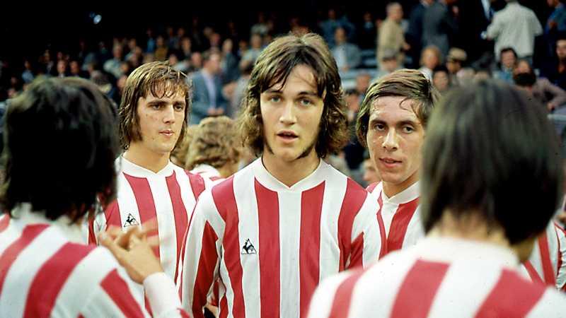 Ralf Edström i PSV Eindhoven 1973.