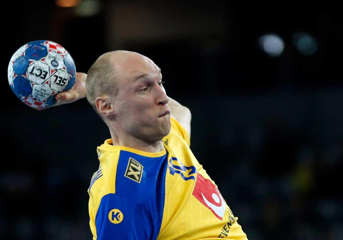 Johan Jakobsson under EM. Arkivbild.