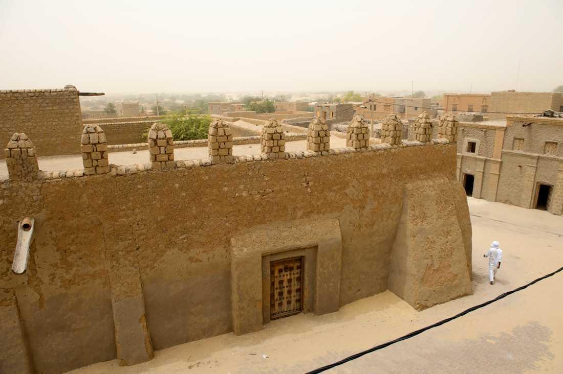 Familjen kommer från den uråldriga staden Timbuktu. Arkivbild.