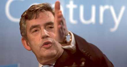 Storbritanniens nye premiärminister heter Gordon Brown.
