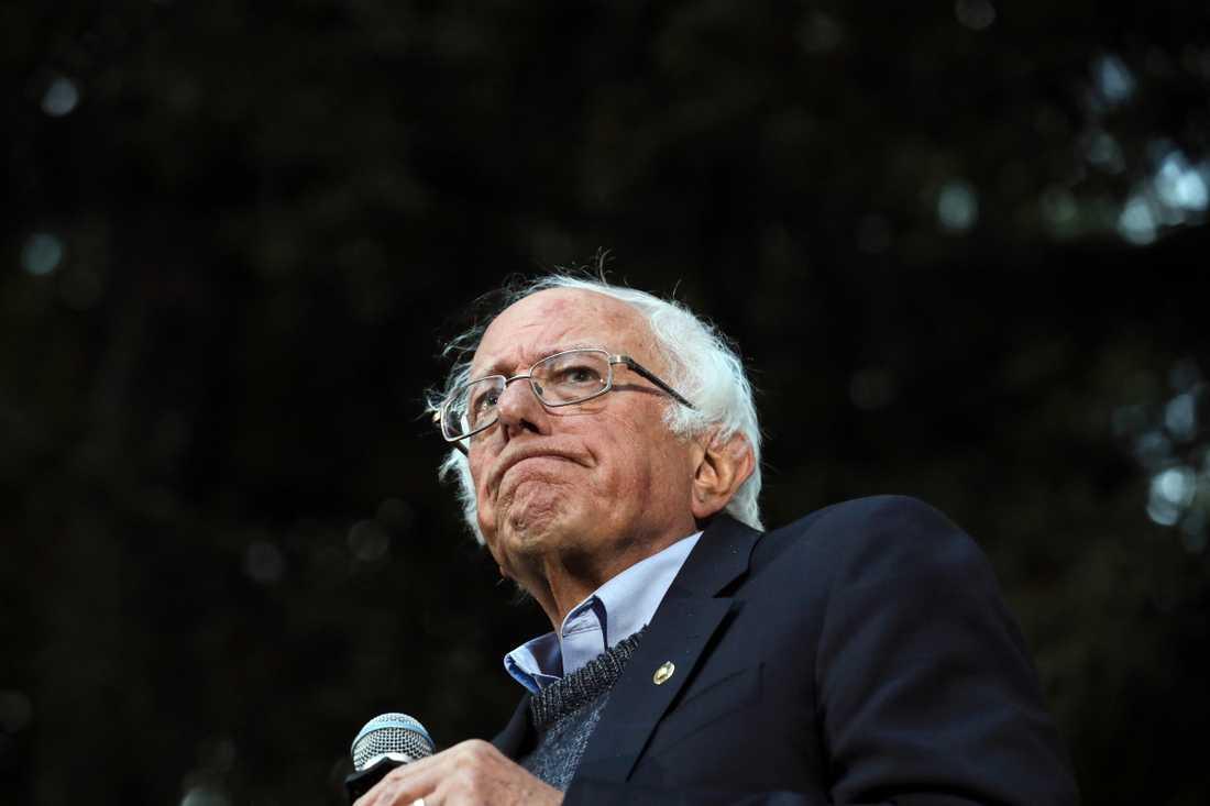 Bernie Sanders är en av demokraternas presidentkandidat.